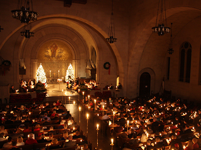 Christmas Eve Candlelight Service of Lessons and Carols at Shadyside Presbyterian Church
