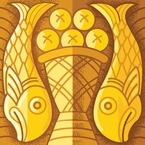 "Detail of Shadyside Presbyterian Church's ""Digital Mosaic,"" illustrated by Mark Bender. All rights reserved by Shadyside Presbyterian Church."